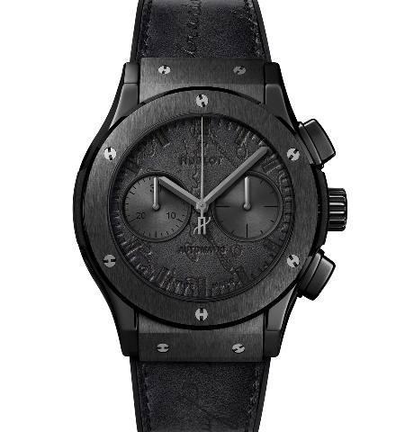 Orologio Hublot Classic Fusion Chronograph Berluti All Black #36207
