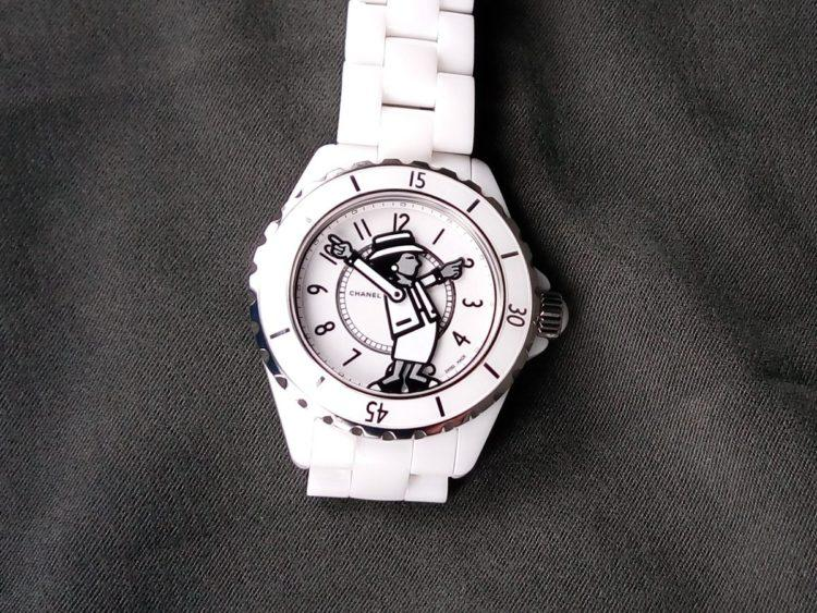 orologio Chanel Mademoiselle J12 bianco