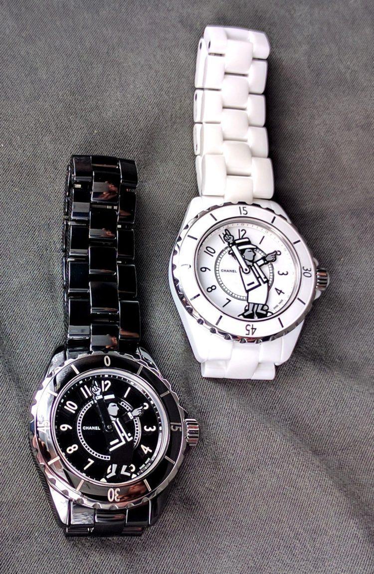 Chanel Mademoiselle J12 nero e bianco