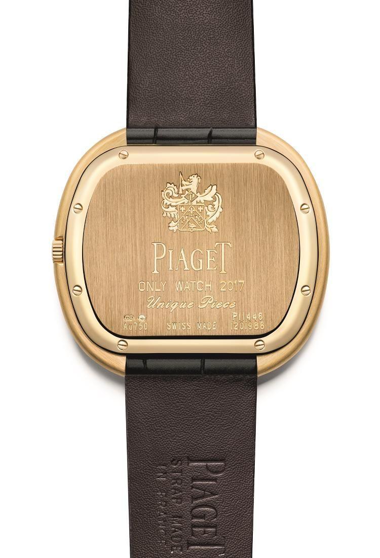 fondello Piaget Black Tie Vintage Only Watch 2017