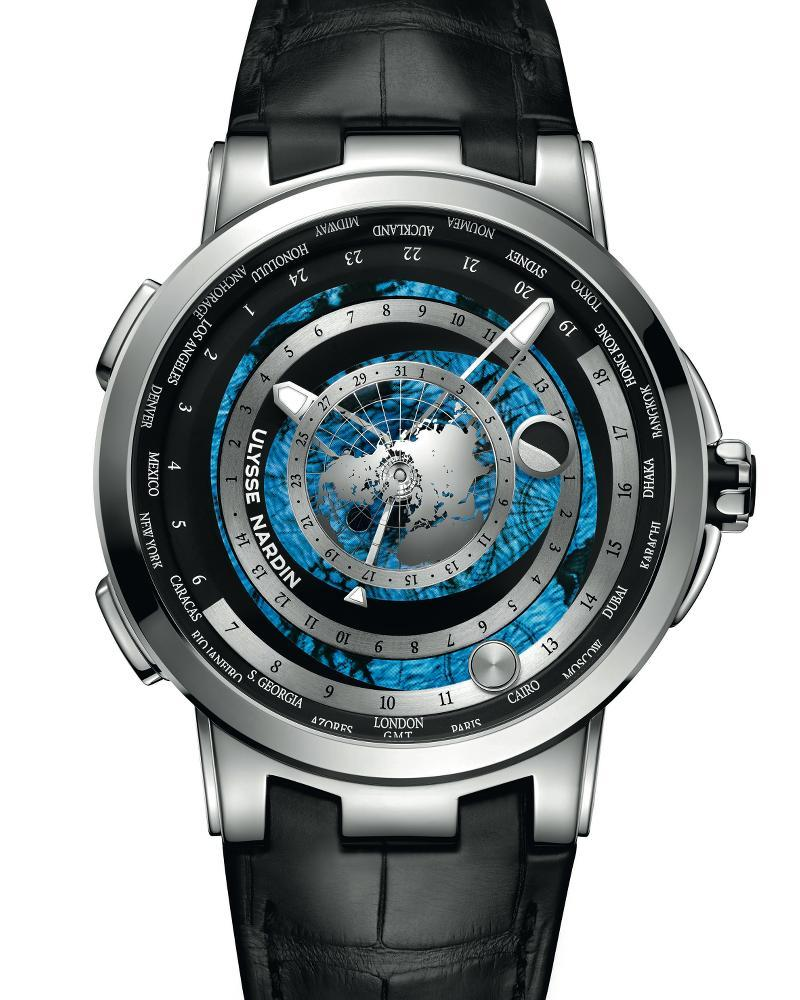Orologio Ulysse Nardin Executive Moonstruck Worldtimer #36875