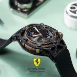 70 Anni Ferrari: All'Asta un Hublot Techframe Ferrari 70 Years Tourbillon Chronograph (PEZZO UNICO)