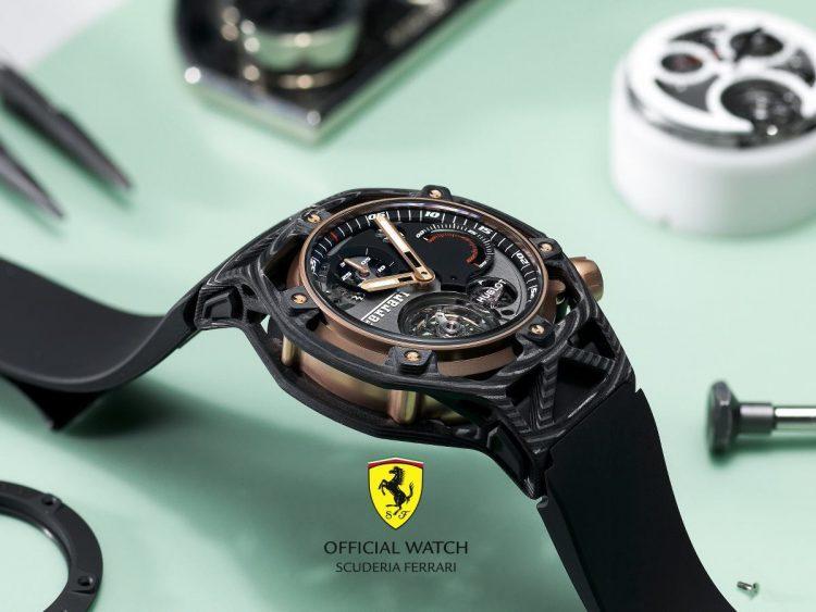 Ferrari 70 anni Hublot Techframe pezzo unico
