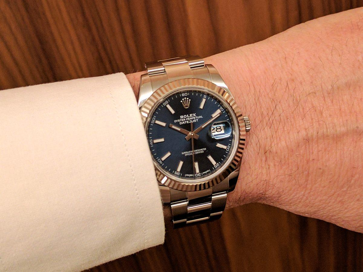 9046ad33b40 orologio Rolex Datejust 41 2017