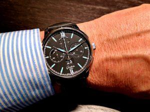 recensione orologio Glashütte Original Senator Chronograph Panorama Date Stainless Steel