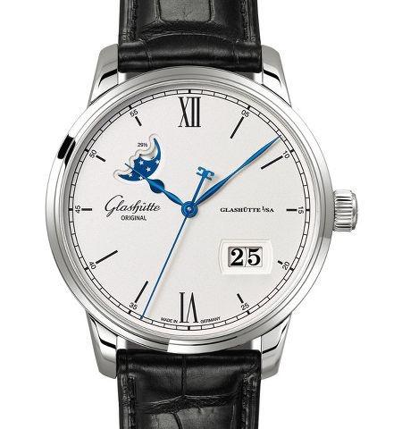 Orologio Glashütte Original Senator Excellence Panorama Date Moon Phase #37238