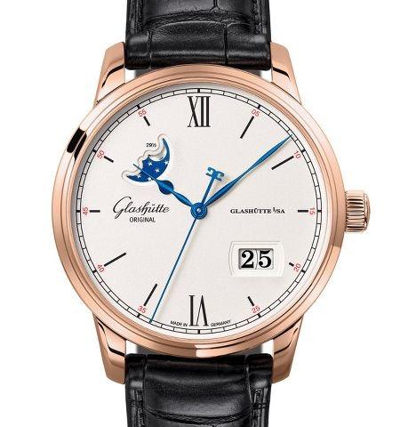 Orologio Glashütte Original Senator Excellence Panorama Date Moon Phase #37234
