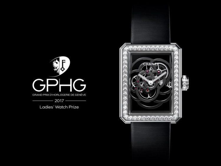 Chanel miglior orologio donna GPHG 2017