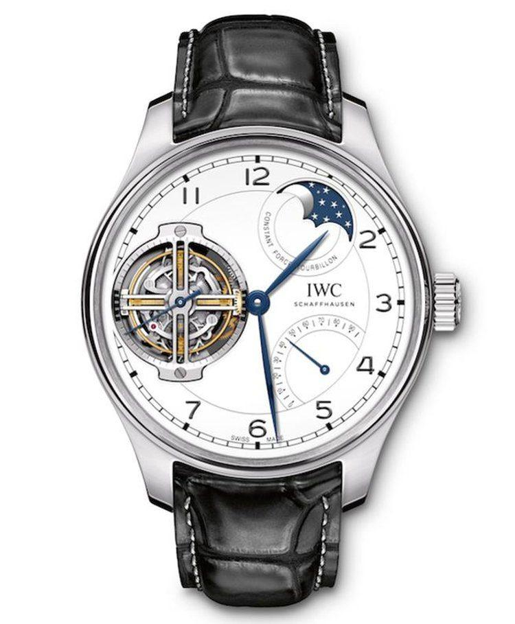 fronte Portugieser Constant-Force Tourbillon Edition 150 Years
