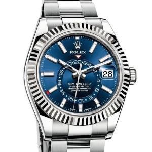Immagine orologio Rolex modello Sky-Dweller Acciaio