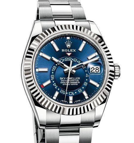 Orologio Rolex Sky-Dweller Acciaio #37741
