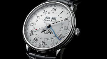 Blancpain Villeret Quantième Complet GMT (Anteprima Basel 2018)