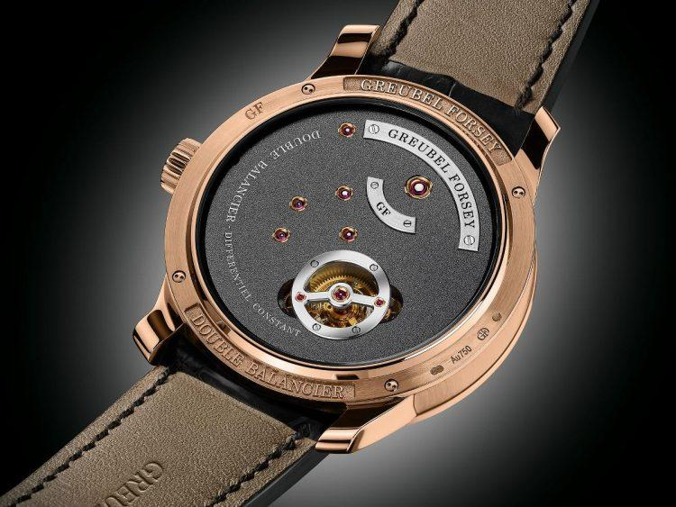Greubel Forsey Double Balancier 2018 movimento