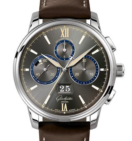 Orologio Glashütte Original Senator Chronograph The Capital Edition Stainless Steel #38365