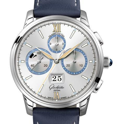 Orologio Glashütte Original Senator Chronograph The Capital Edition Stainless Platinum #38372