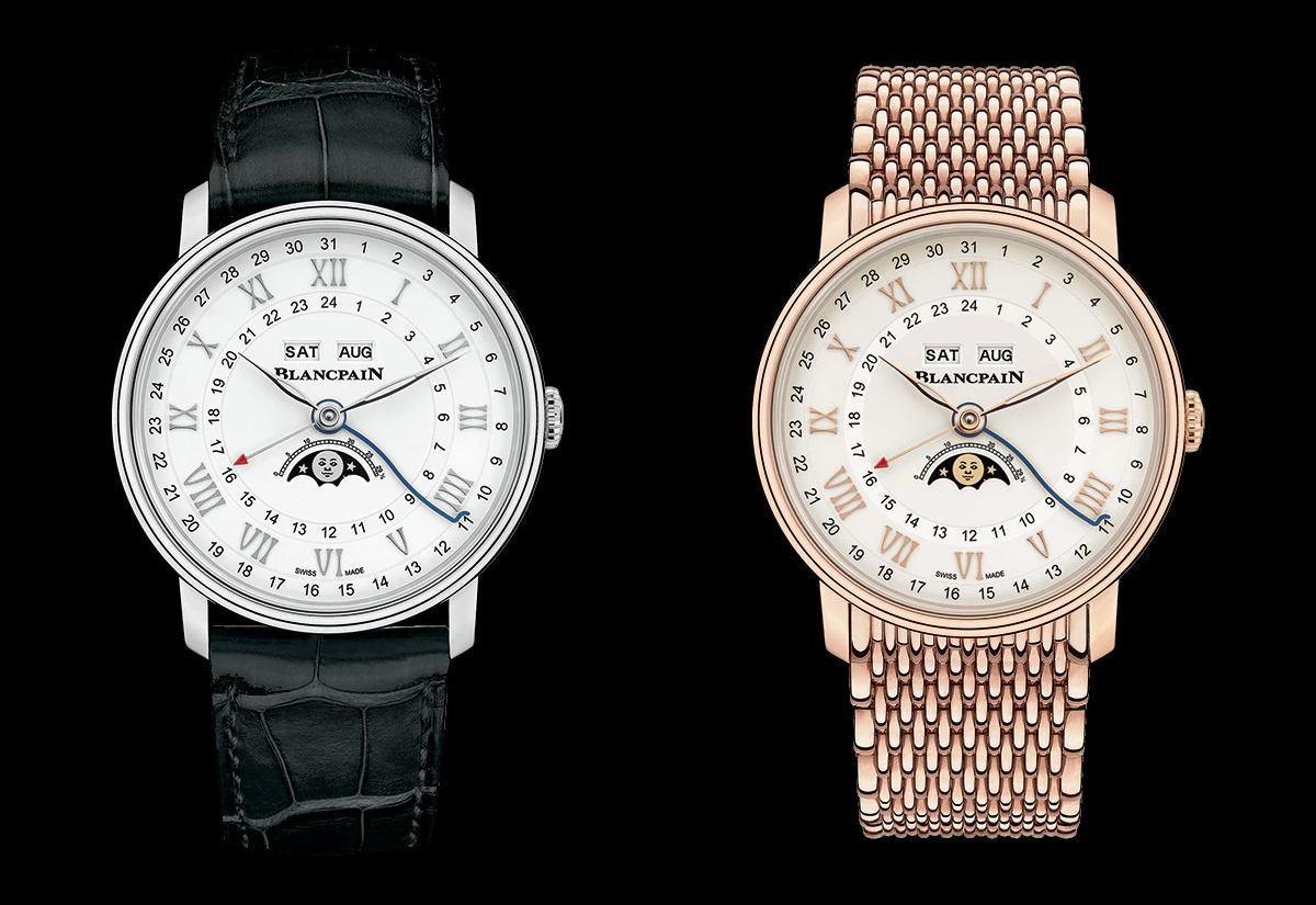 collezione Villeret Quantième Complet GMT