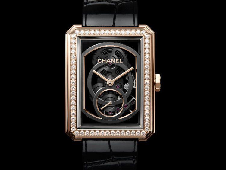 Chanel BOY·FRIEND Scheletrato Calibro 3 diamanti