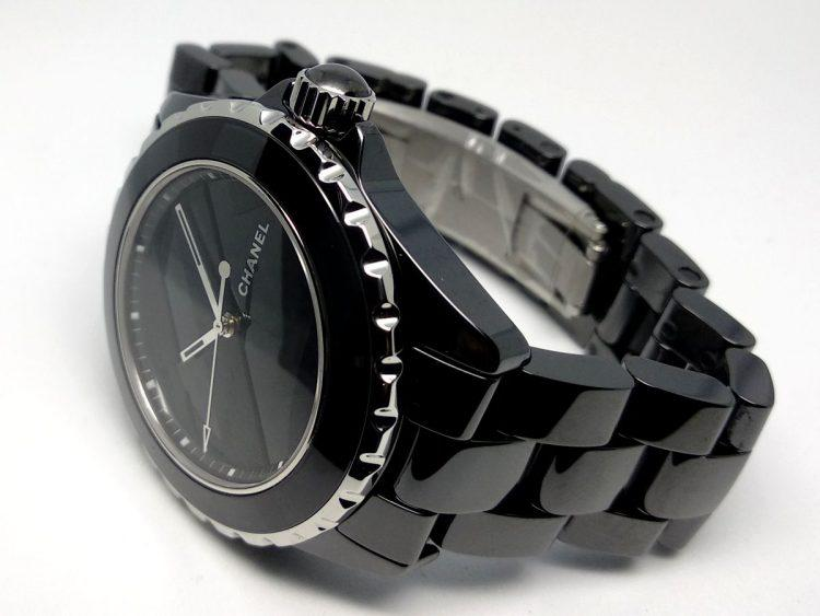 Chanel J12 Untitled nero