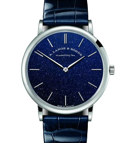 Orologio A. Lange & Söhne Saxonia Thin Copper in Blue #39026