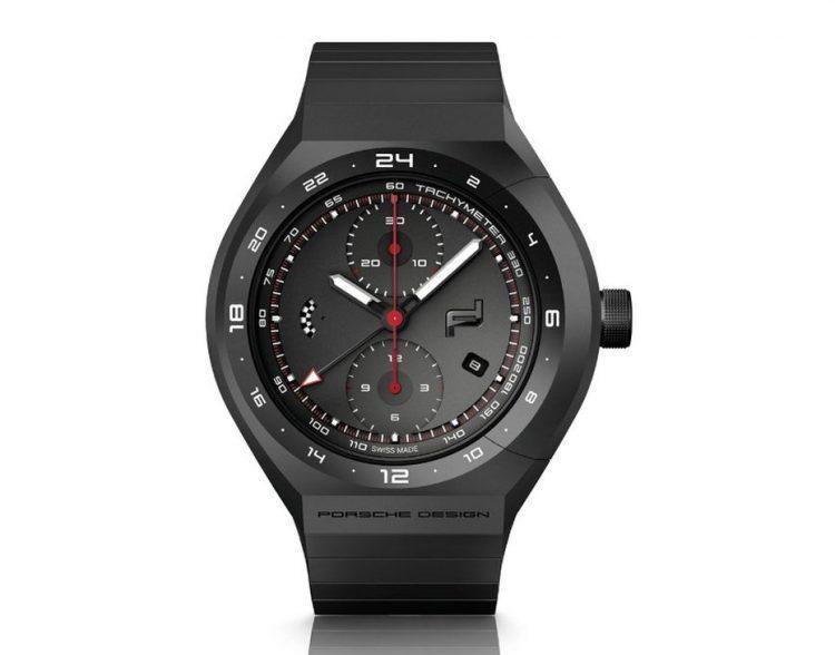 Porsche Design Monobloc Actuator 24H-Chronotimer All Black