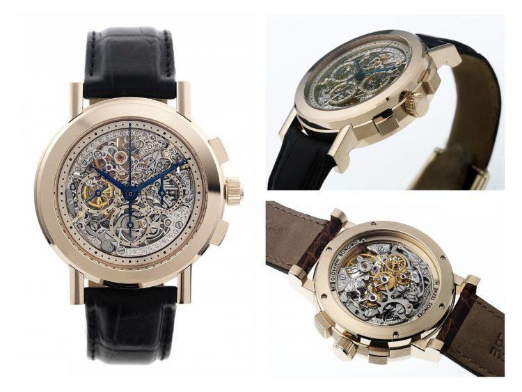 Giovanni Bonomo cronografo oro