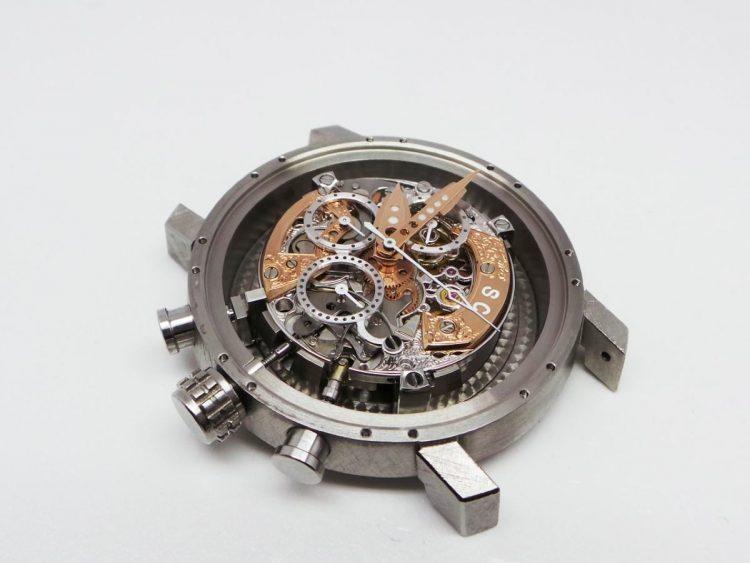 Giovanni Bonomo movimento cronografo