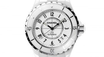 Chanel J12 ceramica high tech bianca
