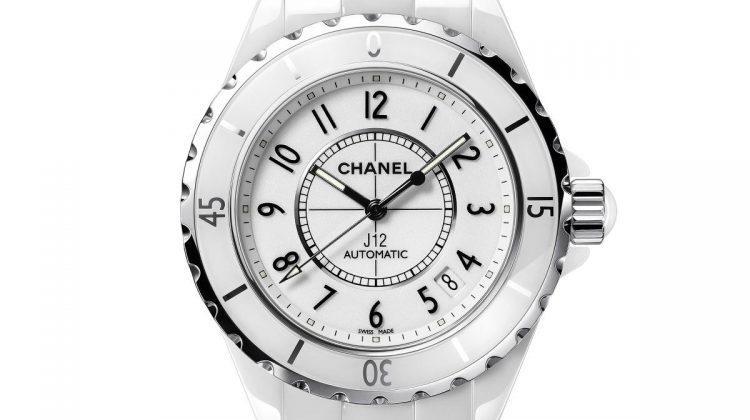 Chanel J12 ceramica high tech bianca