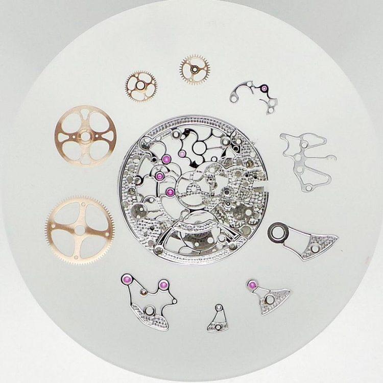 orologi scheletrati Giovanni Bonomo