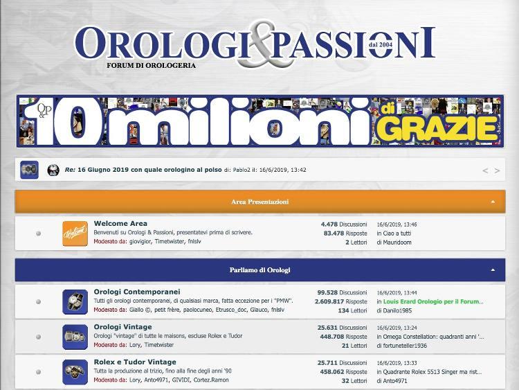 presa di fabbrica informazioni per outlet in vendita Forum Orologi: I Migliori Dove Sfogare le Tue Passioni   Orologi ...