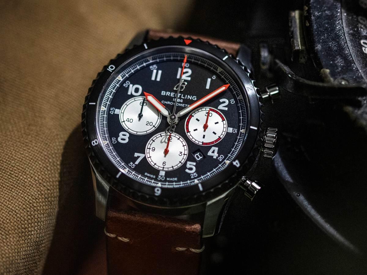 Questo Cronografo Vintage Onora un Grande Aereoplano! | Orologi di Classe