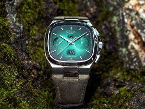 Vi Presento: Glashütte Original Seventies Chronograph Limited Edition con quadrante verde e grigio degradé
